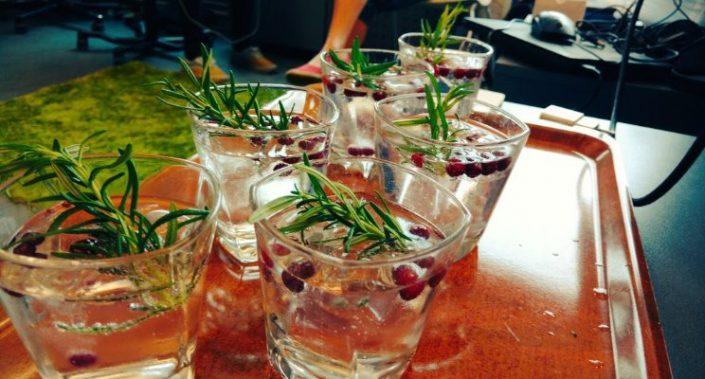 What better way to celebrate Finnish Startup´s global expansion than with Napue Gin