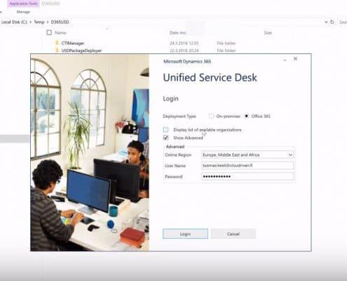 Dynamics 365 unified service desk