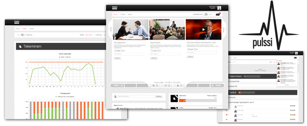 Pulse is a gamified tool for change management.