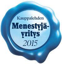 Kauppalehden Menestyjä-yritys 2015